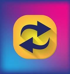 update arrow vector image