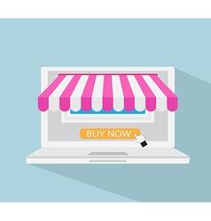 Online Store Online Shopping E-commerce Concept vector image