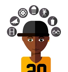 personal thought vector image vector image