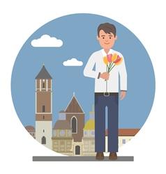 Romantic date vector image vector image
