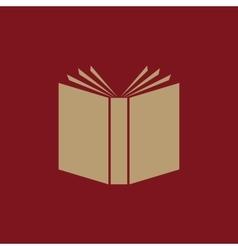 Book icon design Library Book symbol vector