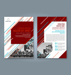 Cover annual report 935 vector