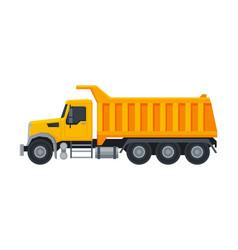 Heavy truck construction machine special vector