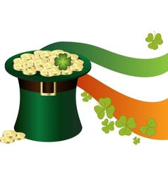 Saint Patricks Day Hat vector