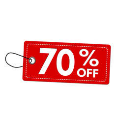 special offer 70 off label or price tag vector image