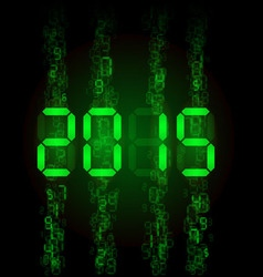digital 2015 z digital 2014 01 vector image