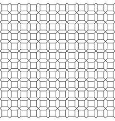 Simple seamless square pattern vector image vector image