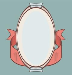 Vintage label Frame vector image