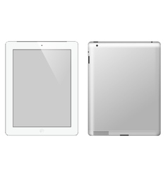 I pad tablet computer vector image vector image