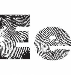 typography vector image vector image