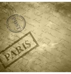 Light beige grange scratched background old paper vector