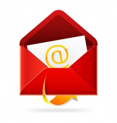 outbox mail icon vector image