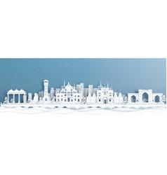 Ahmedabad india landmark vector