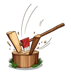 Chopping log vector