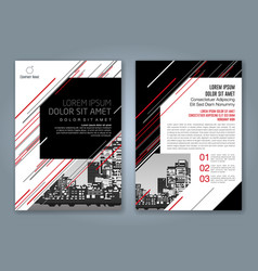 Cover annual report 939 vector