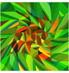 Mosaic complex green background eps10 vector image