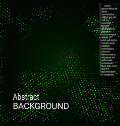 neon halftone texture vector image