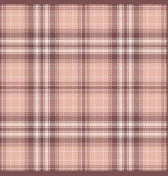Pink check plaid pattern background vector