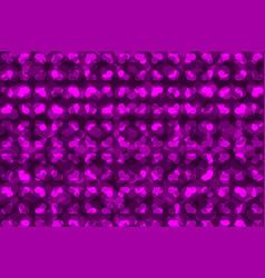 purple heart pattern vector image
