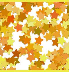 Seamless geometric star pattern background vector