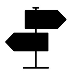 signpost icon simple minimal 96x96 pictogram vector image