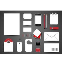 Template for branding identity vector