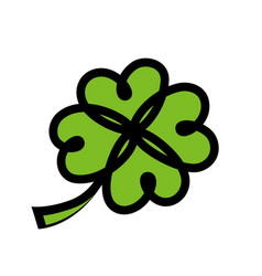 icon for irish saint patricks day vector image vector image