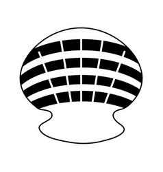 Sea shell icon image vector