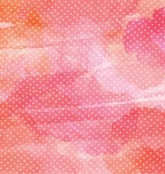 polka dot watercolor background 1401 vector image vector image