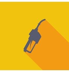 Refueling nozzle icon vector image vector image