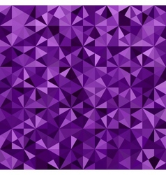 Abstract Purple Triangle Background vector image vector image