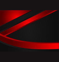 abstract red and black background with copy vector image