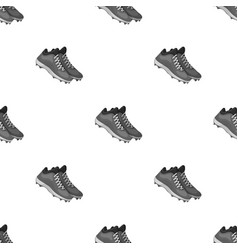 baseball sneakers baseball single icon in vector image