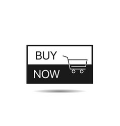 buy now button template vector image