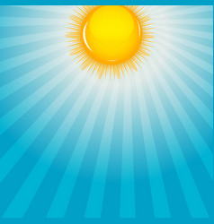 Cloud and sunny background vector