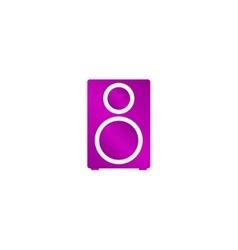 Column - icon vector