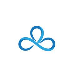 Infinity design infinity logo vector