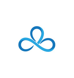 Infinity design logo vector