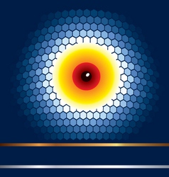energy cell vector image