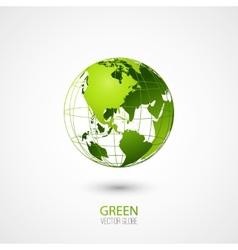 Green Globe vector image