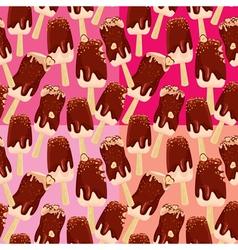 ice cream seamless 2 380 vector image vector image