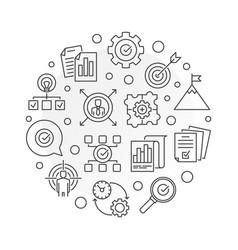 Business goals round in thin vector