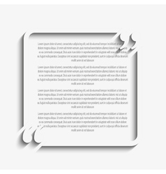 Quote Square Blank Template Bracket vector
