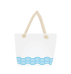 summer beach handbag vector image
