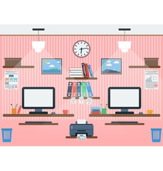 Common workspace vector image vector image