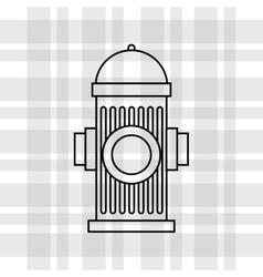 emergency service design vector image vector image