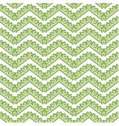 Greenery chevron seamless pattern background vector
