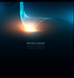 technology background made with particles vector image vector image