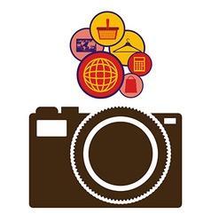 Internet icon design vector image vector image