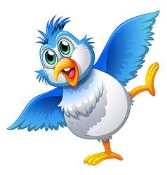 A cute bird vector